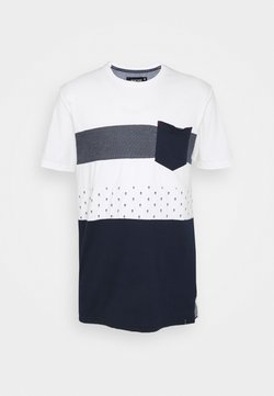 INDICODE JEANS - SILKEBORG - T-shirts print - off-white