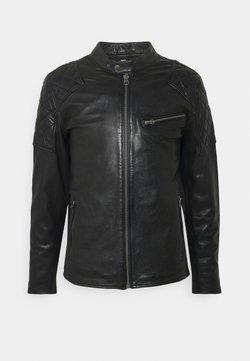 Pepe Jeans - DONNIE - Giacca di pelle - black