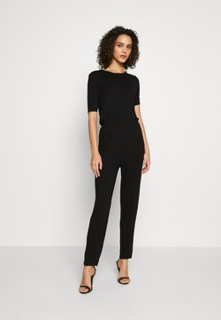Even&Odd - BASIC - Jumpsuit - Combinaison -  black