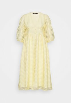 Gina Tricot - SIMONE DRESS - Blusenkleid - pale banana
