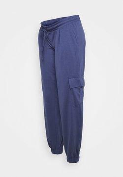MAMALICIOUS - MLJESSICA JERSEY PANTS - Pantalones - crown blue