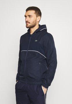 Lacoste Sport - TRACK SUIT SET - Träningsjacka - navy blue/white