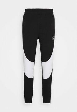 Puma - DIME PANT - Jogginghose - black/white