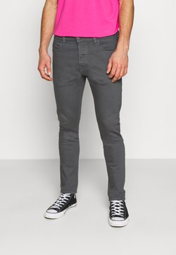 Diesel - D-LUSTER - Slim fit -farkut - grey denim