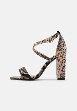 Glamorous - Sandalen met hoge hak - beige
