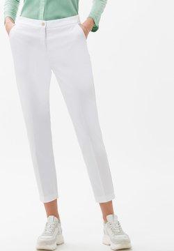 BRAX - STYLE MARON - Spodnie materiałowe - white