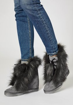 faina - Snowboot/Winterstiefel - grey