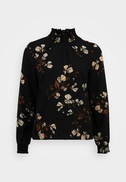 Vero Moda Petite - VMANNIE SMOCK - Blusa - black