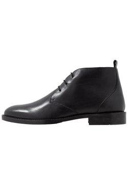 Zign - LEATHER - Klassiset nauhakengät - black
