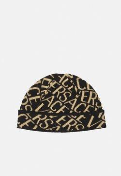 Versace - BEANIE UNISEX - Berretto - black/gold-coloured