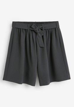 Next - TIE FRONT SKORT - Shorts - grey
