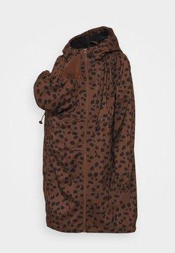 MAMALICIOUS - MLELLA JACKET - Vinterjakker - friar brown/black