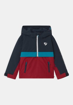 Ziener - ABSALOM JUN UNISEX - Kurtka snowboardowa - red pepper