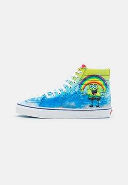 Vans - SK8-HI UNISEX - Sneakers alte - blue/multicolor/white