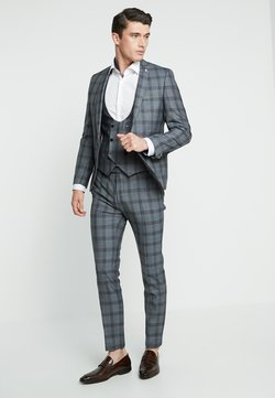 Twisted Tailor - SACRED SUIT SKINNY FIT - Suit - blue