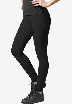 Urban Classics - Pantalon en cuir - black