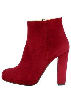Evita - CRISTINA - High Heel Stiefelette - rot