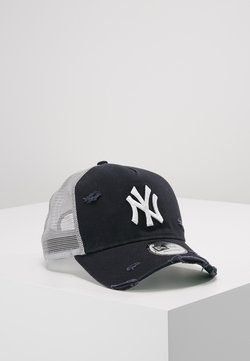 New Era - DISTRESSED TRUCKER - Lippalakki - new york yankees