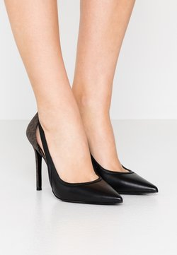 MICHAEL Michael Kors - NORA  - High Heel Pumps - black/brown