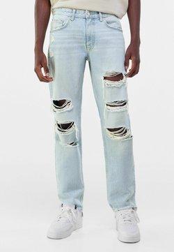 Bershka - Jeans Straight Leg - light blue