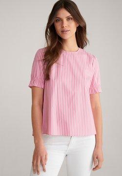 JOOP! - BETSIE - Bluse - pink/weiß