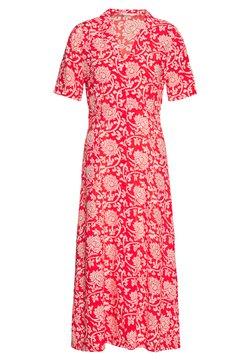 Esqualo - DRESS ETHNIC PRINT - Vestido camisero - red