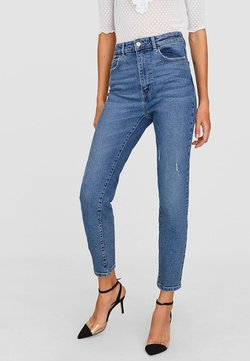 Stradivarius - Jean slim - blue
