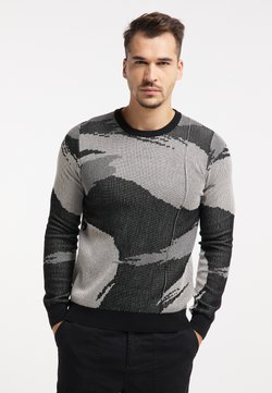 TUFFSKULL - Sweatshirt - schwarz camouflage