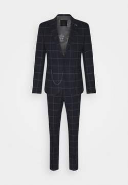 Shelby & Sons - STRATHDON SUIT - Costume - black/white/brown