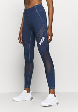 Puma - PAMELA REIF X PUMA COLLECTION MID WAIST - Tights - sargossa sea