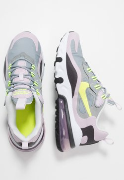 Nike Sportswear - AIR MAX 270 REACT  - Sneakers laag - particle grey/lemon/iced lilac/off noir
