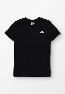 The North Face - SIMPLE DOME UNISEX - T-shirt basic - black