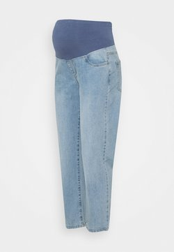 Cotton On - MATERNITY STRETCH MOM OVER BELLY - Jeans Straight Leg - aireys blue