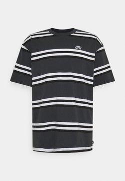 Nike SB - TEE STRIPE UNISEX - T-Shirt print - smoke grey