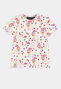 Mini Rodini - MR RABBIT TEE UNISEX - T-shirt print - offwhite