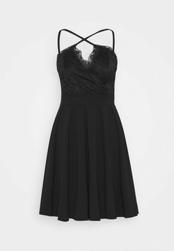 WAL G. - SKATER DRESS - Vestido de cóctel - black