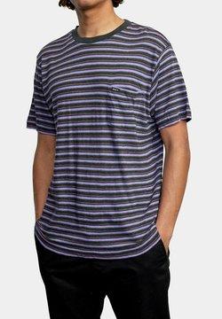 RVCA - TOLUCA MICRO  - T-Shirt print - blue