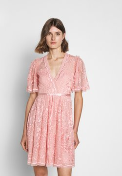 Needle & Thread - TRUDY BELLE MINI DRESS - Cocktailkleid/festliches Kleid - desert pink