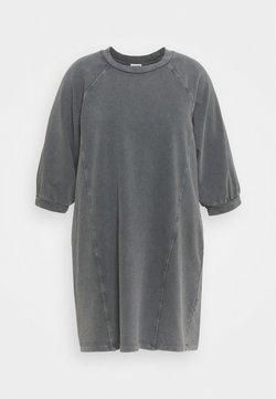 Noisy May Curve - NMDARIA SHORT DRESS - Freizeitkleid - obsidian