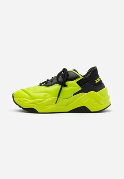 Just Cavalli - CONTRAST LOGO - Sneaker low - lime
