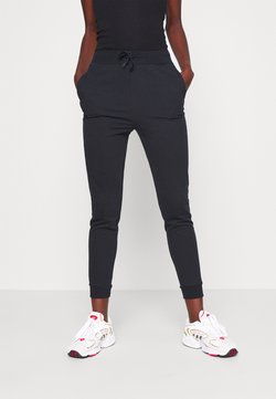 Even&Odd Tall - SLIM FIT JOGGERS - Jogginghose - black