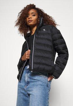 Calvin Klein Jeans - LOGO BINDING PUFFER - Winterjacke - black