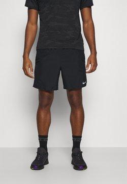 Nike Performance - CHALLENGER SHORT - Korte broeken - black/silver