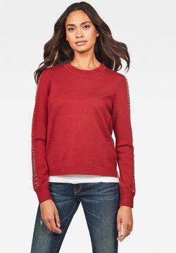 G-Star - GUZAKI - Pullover - dry red