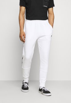 Nike Sportswear - REPEAT - Jogginghose - white/black