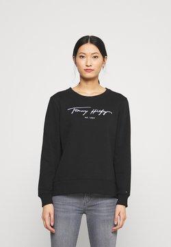 Tommy Hilfiger - SCRIPT - Sweatshirt - black