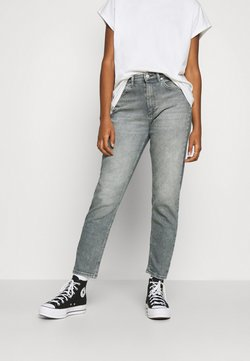 ONLY - ONLVENEDA LIFE MOM - Jeans baggy - grey denim