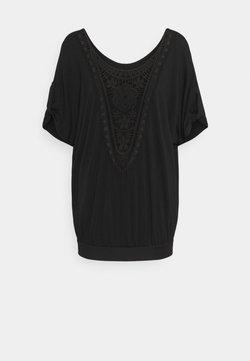 LASCANA - Camiseta estampada - schwarz