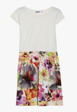 Molo - CARLA  - Jerseykleid - white/multi-coloured