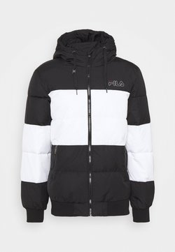 Fila - LASSAD PUFFED JACKET - Talvitakki - black/bright white
